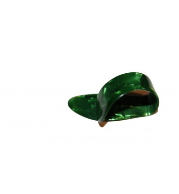 Boston BTP-L-V Plettro per pollice thumb picks large tartarugato verde