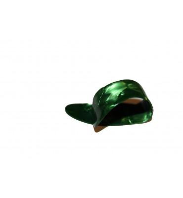 Boston BTP-M-V Plettro per pollice thumb picks medio tartarugato verde