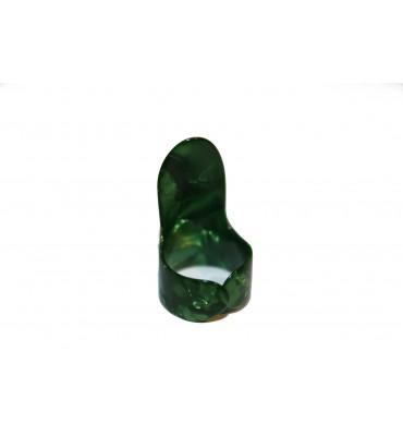 Boston BFP-L-V Plettro finger picks large tartarugato verde