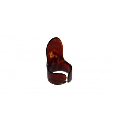 Boston BFP-M-M Plettro finger picks medio tartarugato marrone