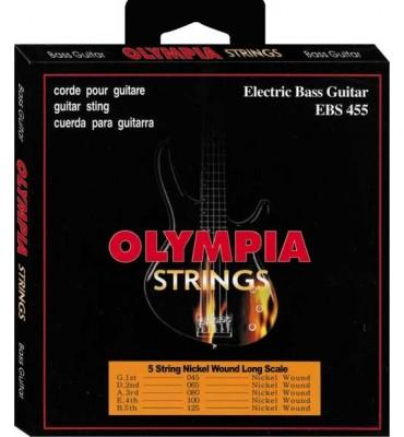Olympia Strings EBS455 045-125 Muta per basso elettrico 5 corde