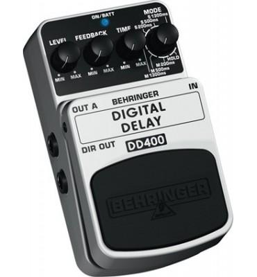 BEHRINGER - DD400 Digital Delay Effetto a pedale per chitarra