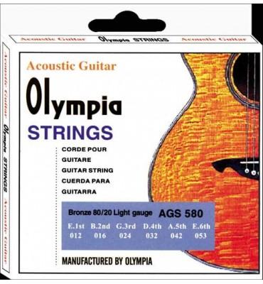 Olympia Strings AGS580 012-053 Muta di corde per chitarra acustica