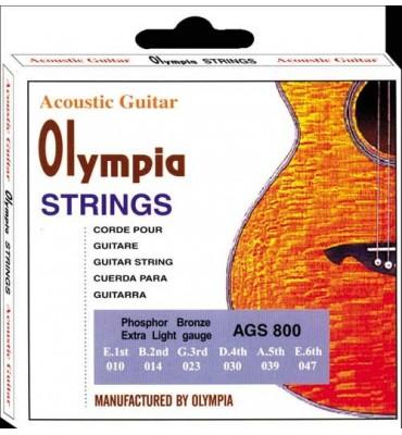 Olympia Strings AGS800 010-047 Muta di corde per chitarra acustica