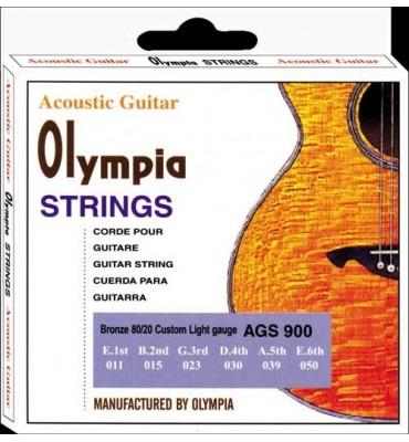 Olympia Strings AGS900 011-050 Muta di corde per chitarra acustica