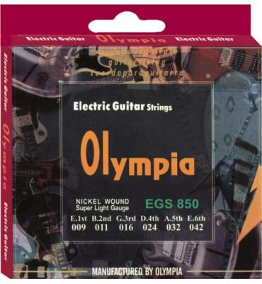 Olympia Strings EGS850 009-042 Muta di corde per chitarra elettrica