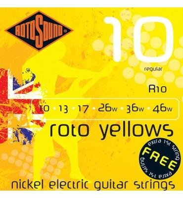 RotoSound R10 Muta di corde per chitarra elettrica 010-046