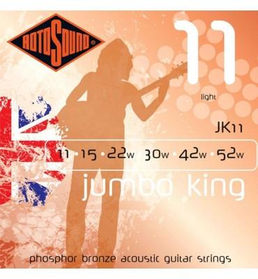 RotoSound JK11 Muta di corde per chitarra acustica 011-052